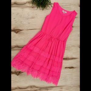 GB Girls pink lace thin dress